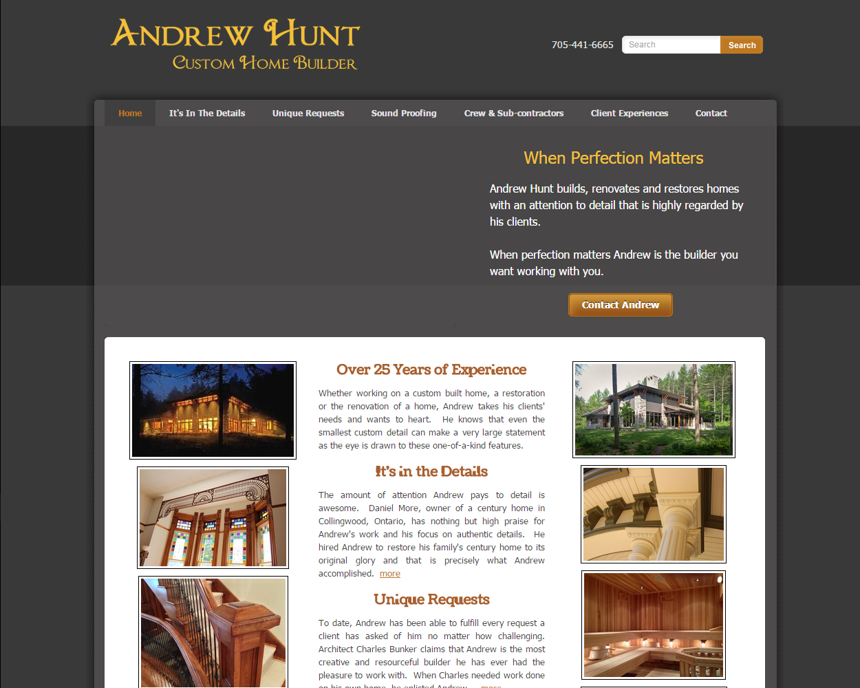 Andrew Hunt Custom Home Builder